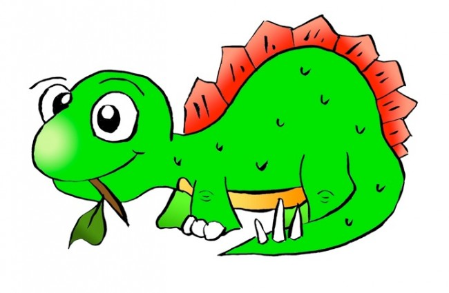 Image of Dinosaur Clipart #575, Cute Dinosaur Clipart Free.