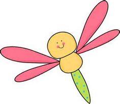 Dragonfly Clip Art.