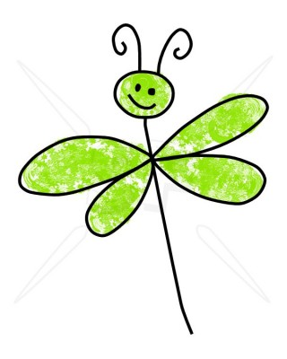 Cute cartoon dragonfly clipart free clip art images image #9318.