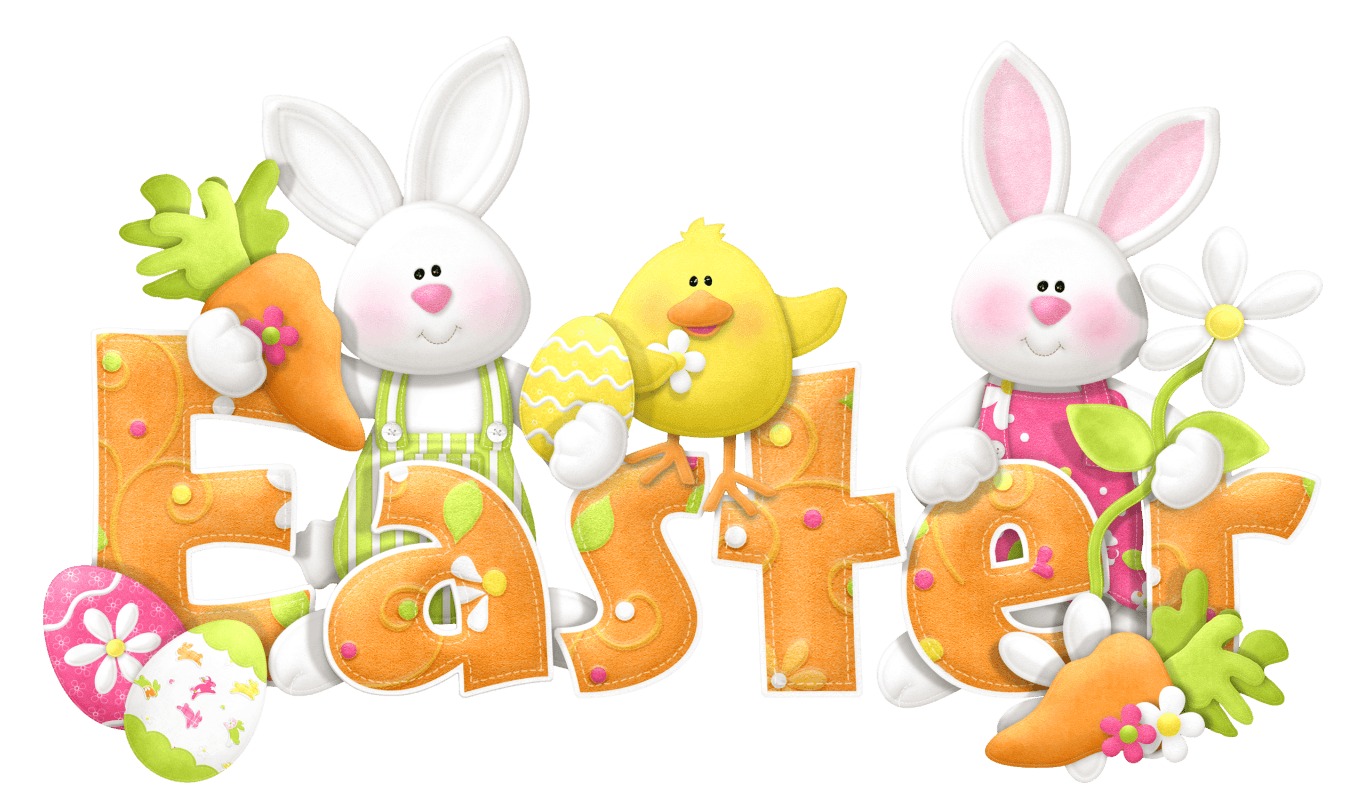 Humorous Easter Cliparts.
