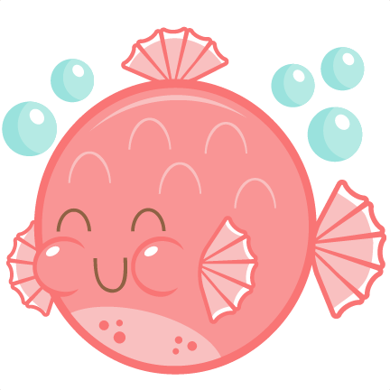 Free Clip art of Cute Fish Clipart #2817 Best Pink Cute Fish.