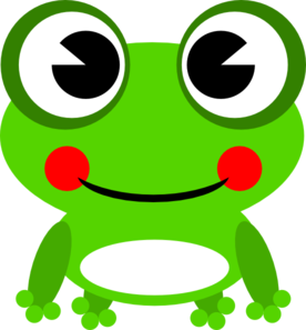 frog clipart for projects.