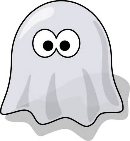 Cute Ghost Clipart.