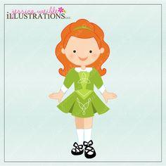 Cute Irish Clipart.