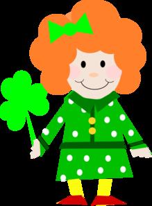 Free cute irish clipart.