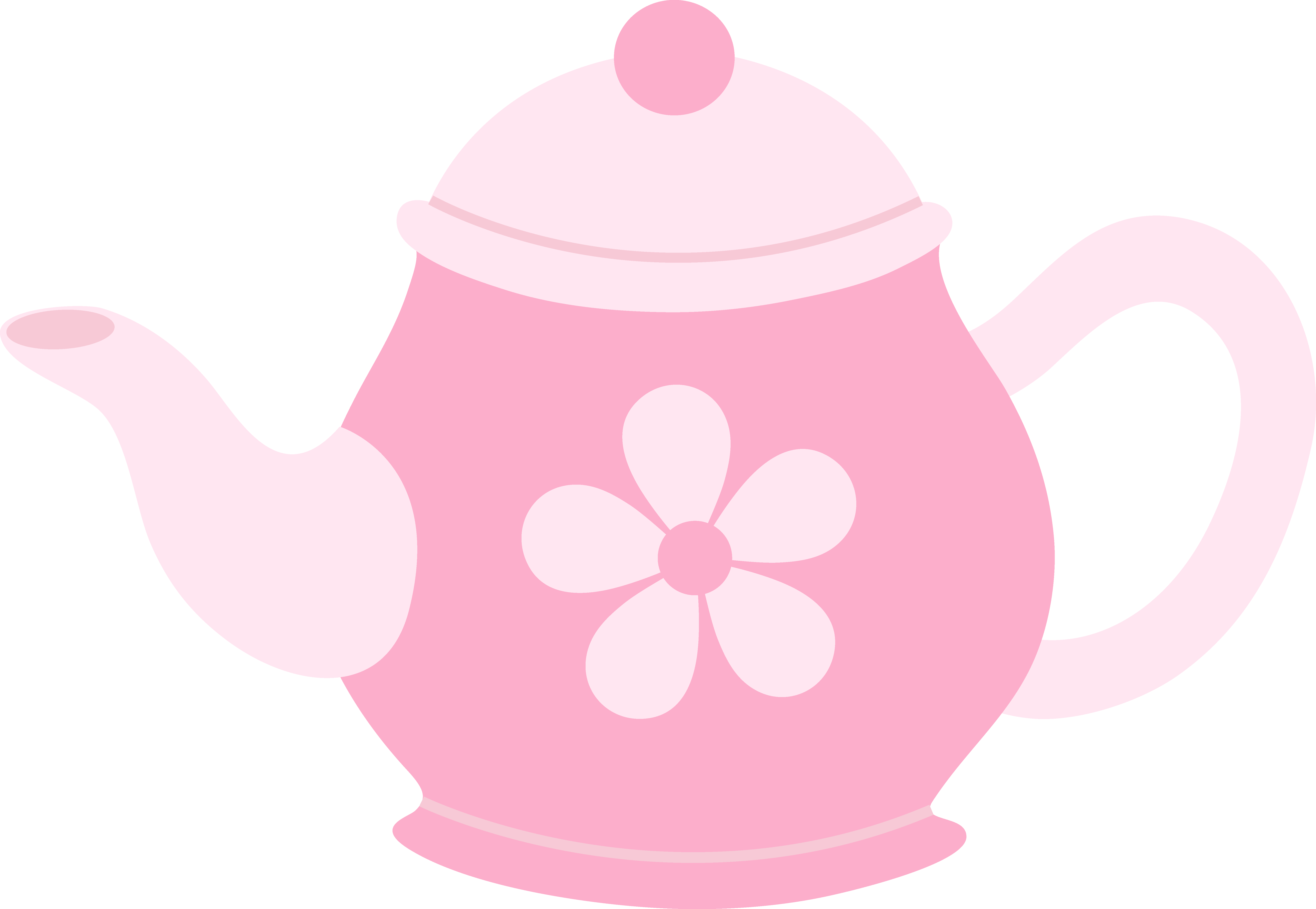 Free Tea Pot Clip Art.