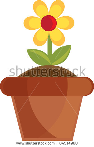 Clip Art Illustration Cute Yellow Pink Stock Illustration 98719874.