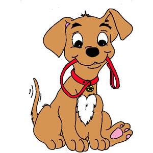 Free Cute Dog Clipart.