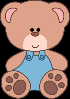 Cute Teddy Bear Clipart.