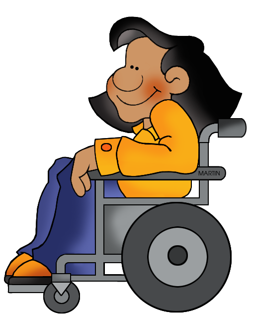 Student Wheelchair Clipart Free.