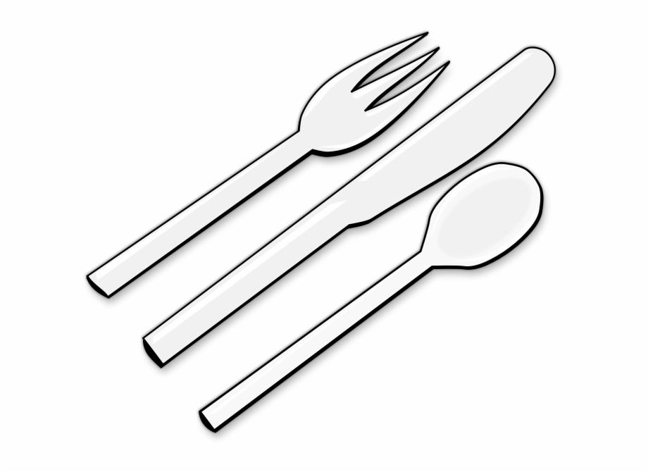 Plastic Cutlery Clipart.