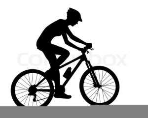 Free Cyclist Clipart.