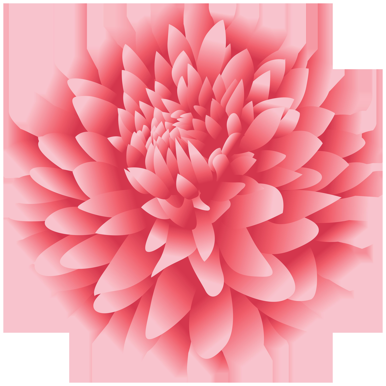 Dahlia Flower PNG Clipart.