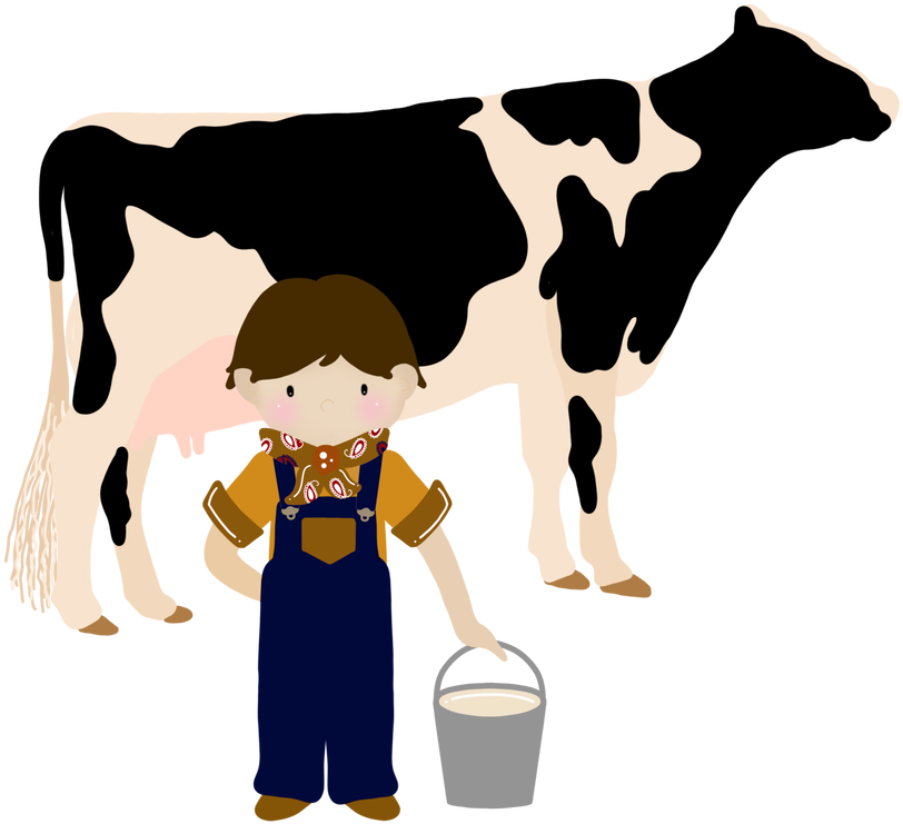 HD Download Free Png Service Milking Cow Clipart Joseph.