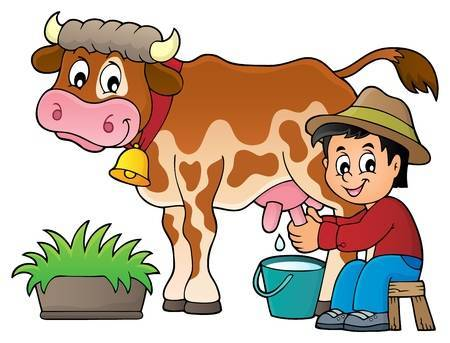 Dairy cow clipart free 4 » Clipart Portal.