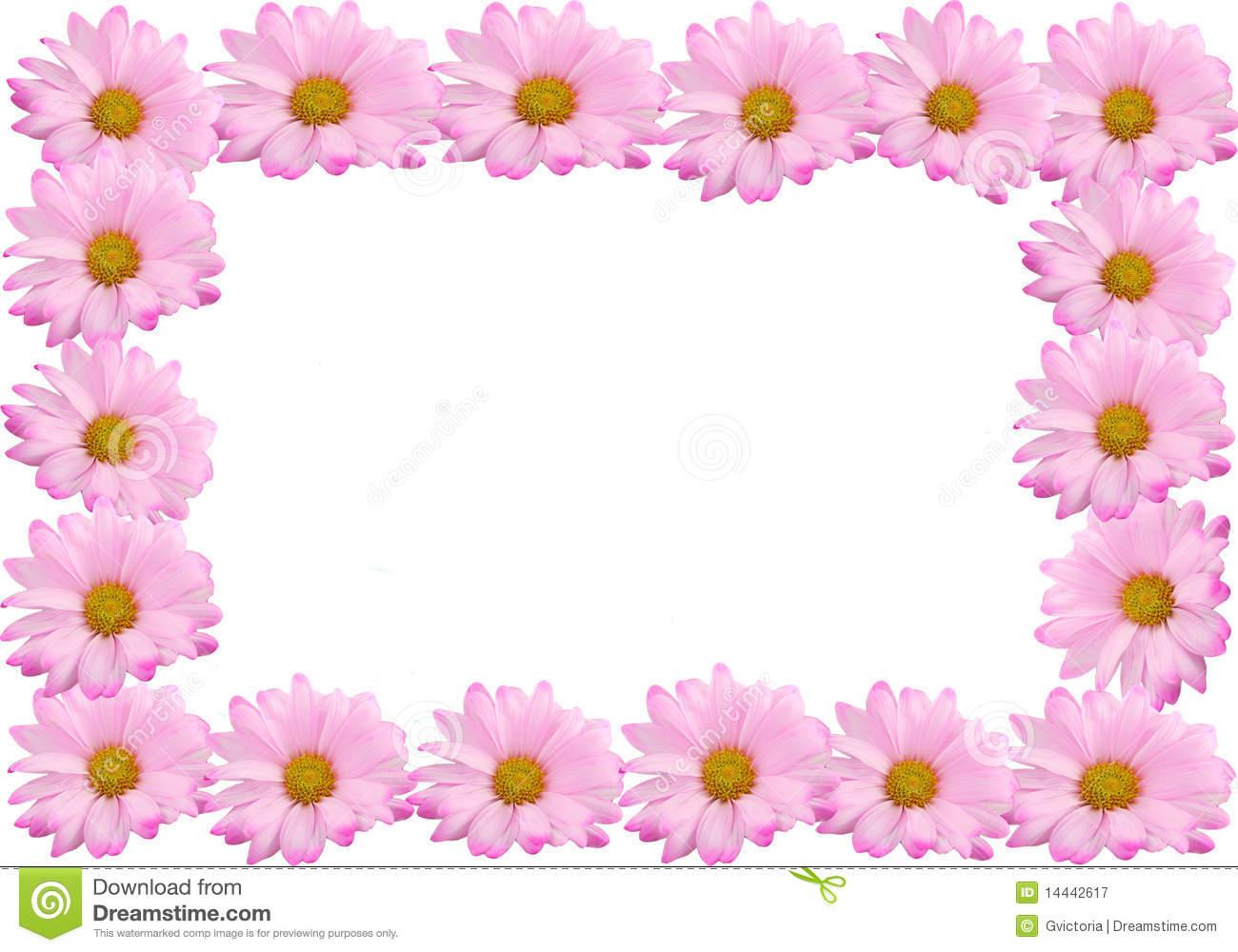 Free Daisy Clipart Borders Clipground