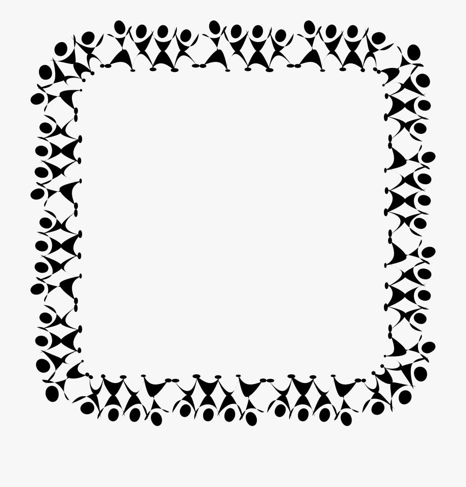 Black And White Dance Clip Art Borders Clipart Vector.