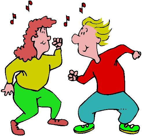 Free dance clipart clip art image 4.