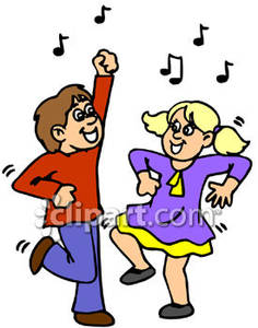 Free Dancing Clipart.