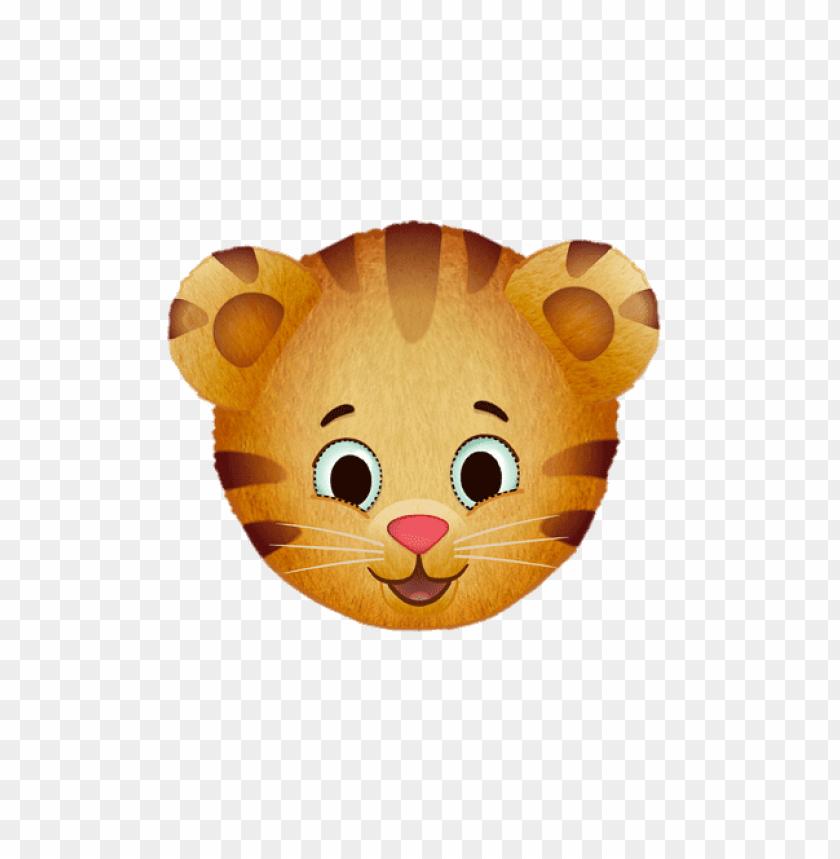 Download daniel tiger face clipart png photo.