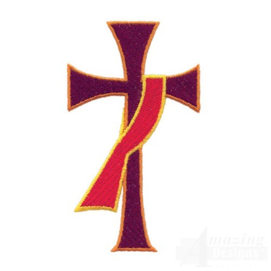 Deacon Cross Clip Art N3 free image.
