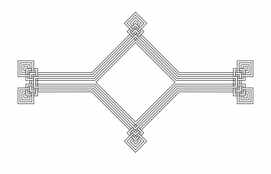 Download Free png Jpg Black And White Stock Decorative Line.