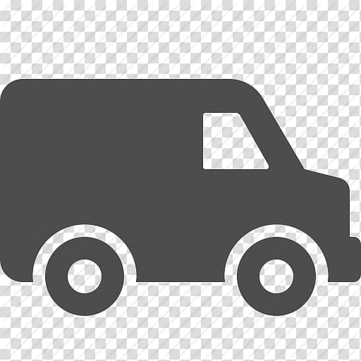Utility van illustration, Car Van Computer Icons Delivery.