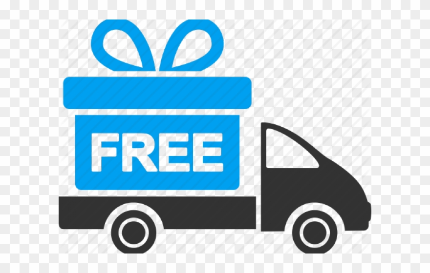 Free Shipping Clipart Free Delivery Truck.
