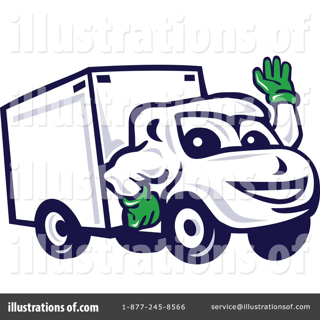 Delivery Van Clipart #1425455.