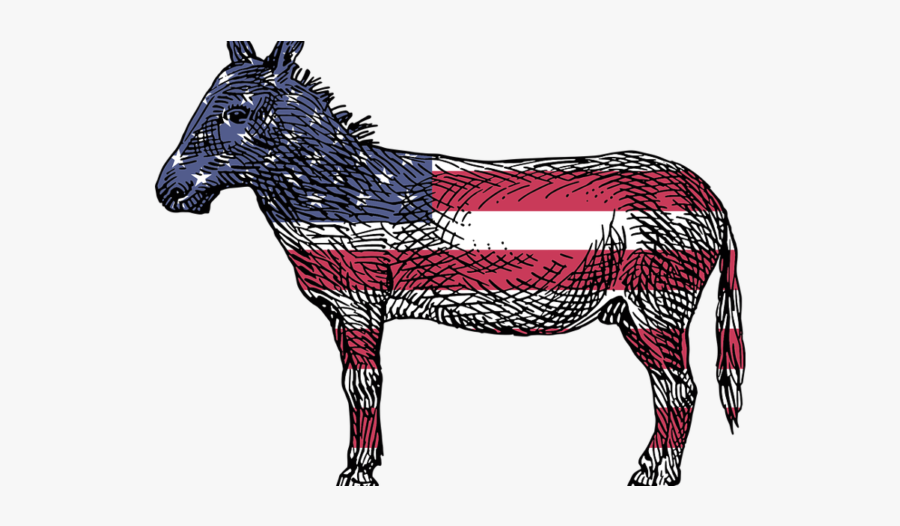 Democrat Donkey Transparent Background , Free Transparent.