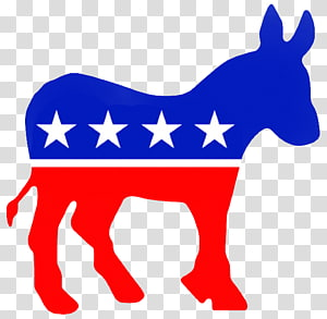 Democratic Party transparent background PNG cliparts free.