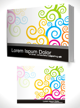 Cover page design template free vector download (15,596 Free.