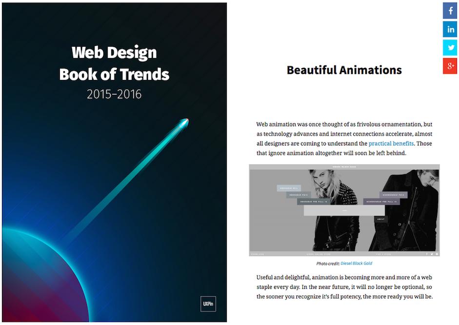 Free eBook: Web Design Trends 2015.