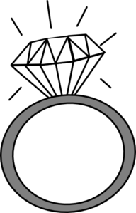 Diamond Ring Clipart.