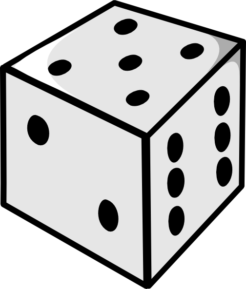 Dice clipart free clipartfest 2.