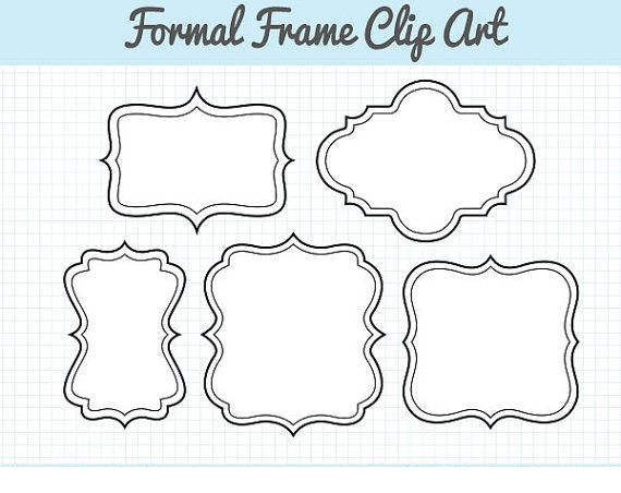 Digital Frame Clipart Ipekxat.