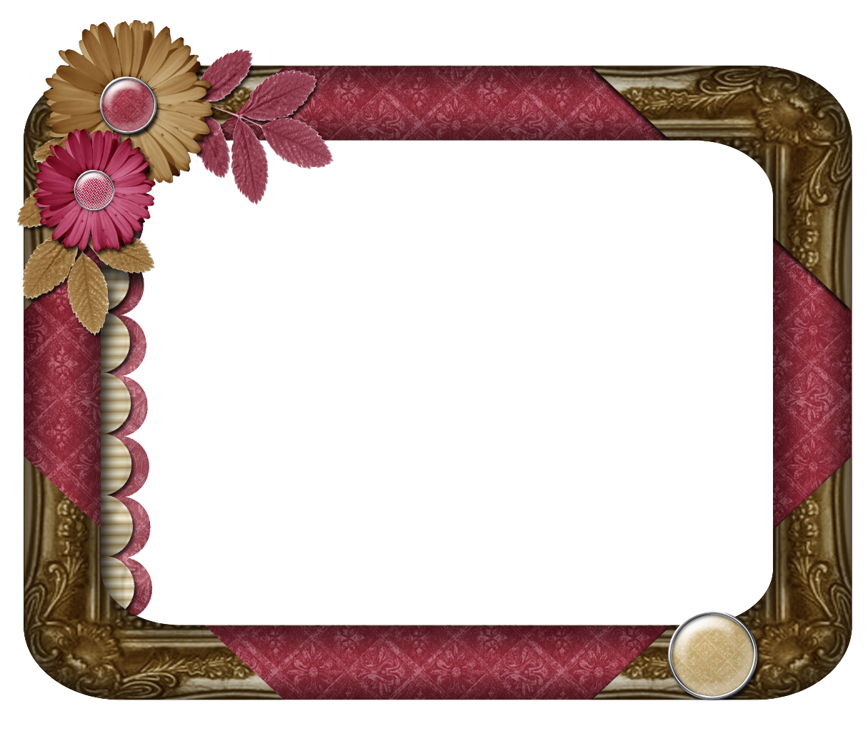 clipart #frames #flora #floral #borders.