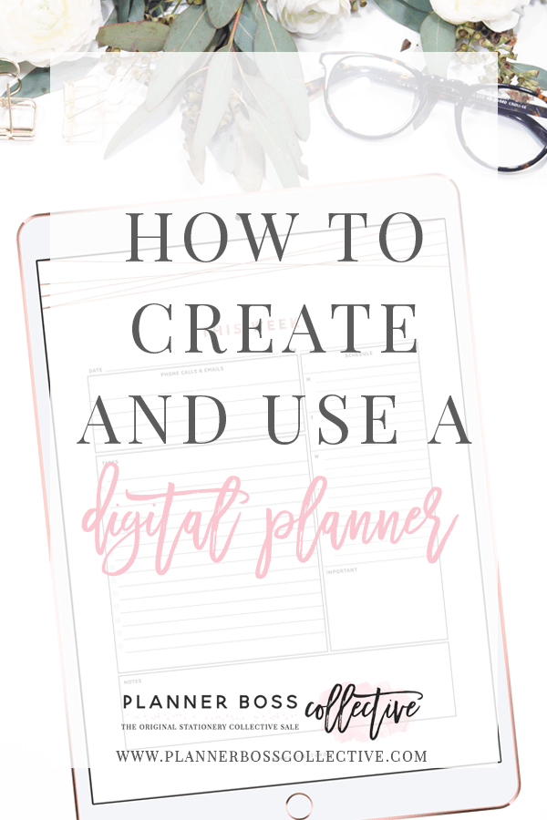 How to Create and Use a Digital Planner.
