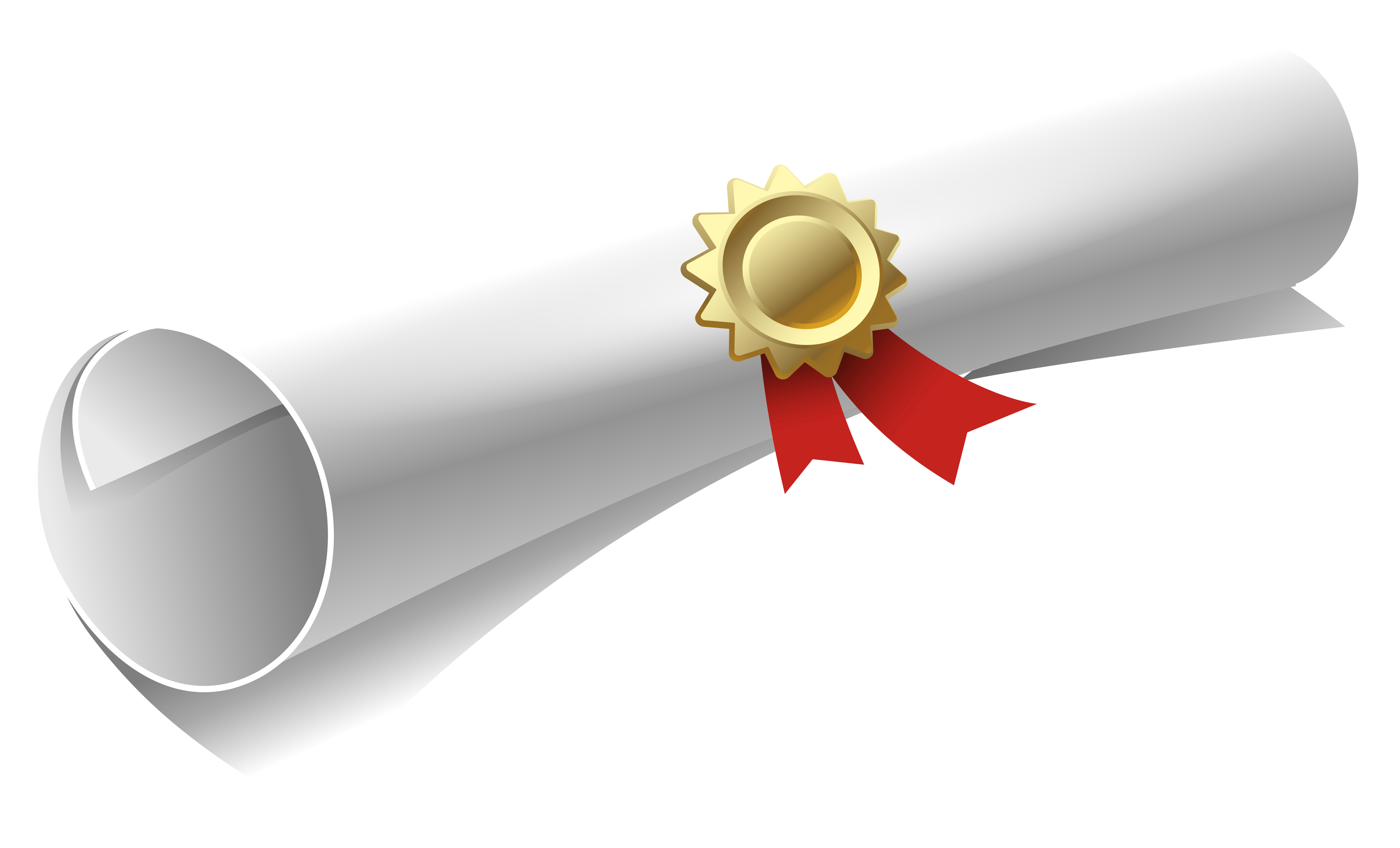 Diploma PNG Clipart Image.