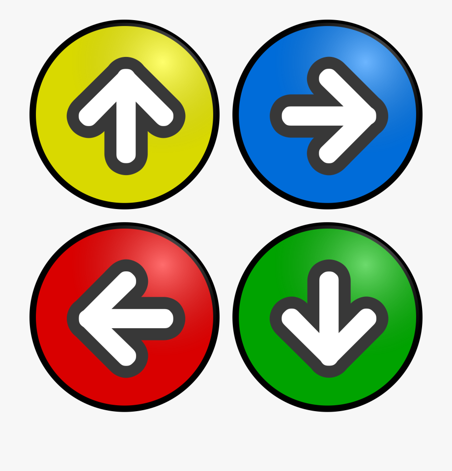 Directional Arrows Clip Art 31.