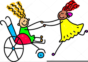 Child Disability Clipart.