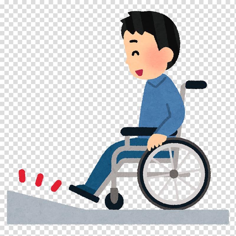 Wheelchair ramp Barrier.