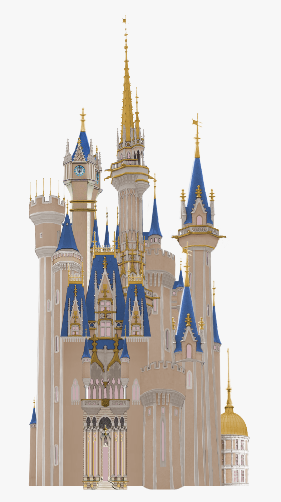 Transparent Disney Castle Clipart Black And White , Free.