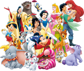 Clipart Disney Characters.