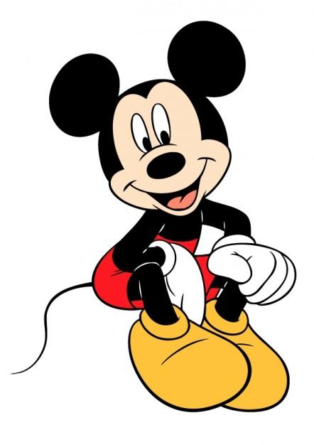 Disney Mickey Mouse vector clipart.