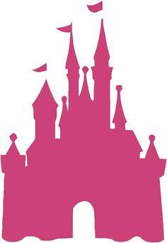 walt disney world castle clipart silhouette #11