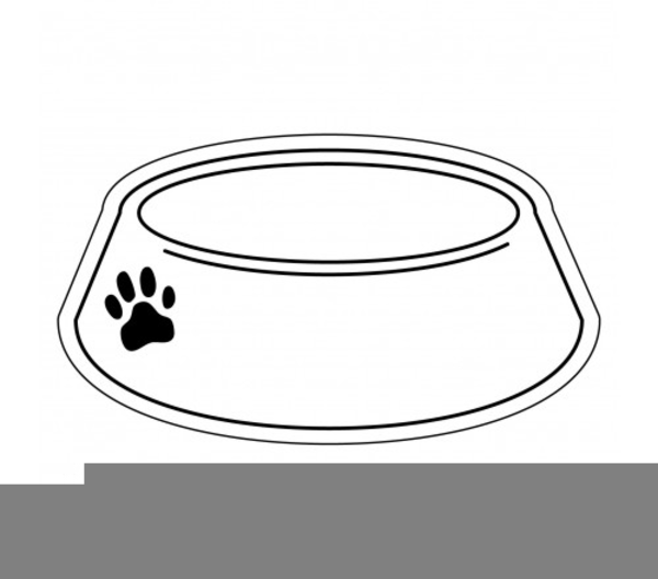 Dog Bowling Clipart.