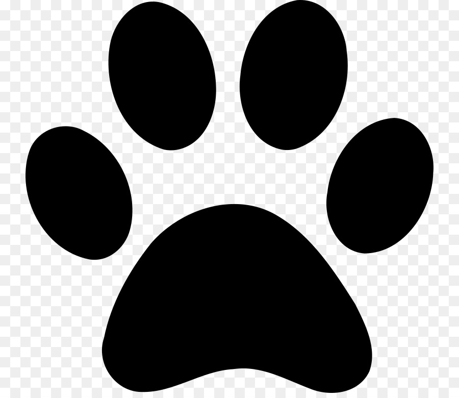 Dog Paw Printing Clip Art.