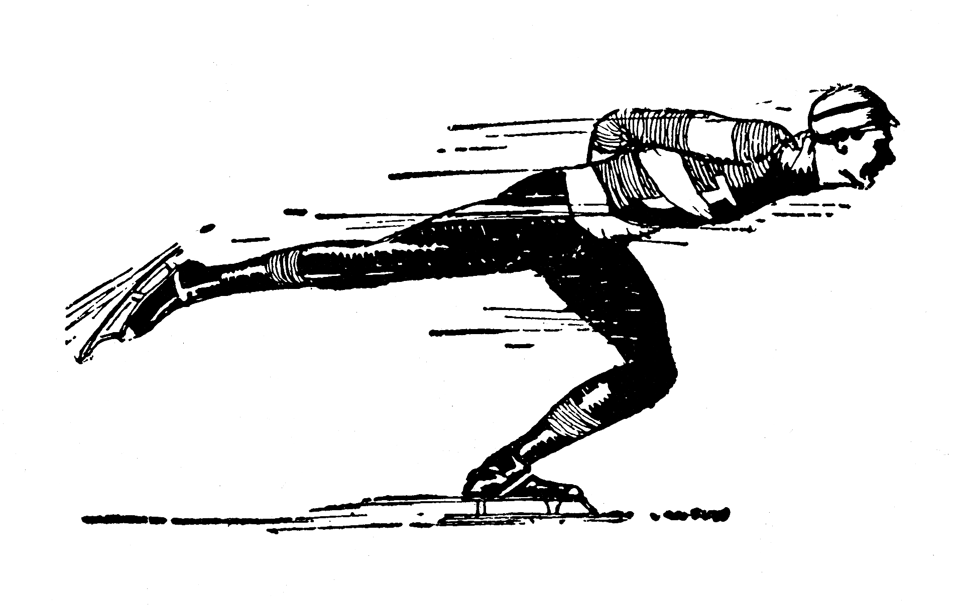 Public Domain Ice Skating Clipart.