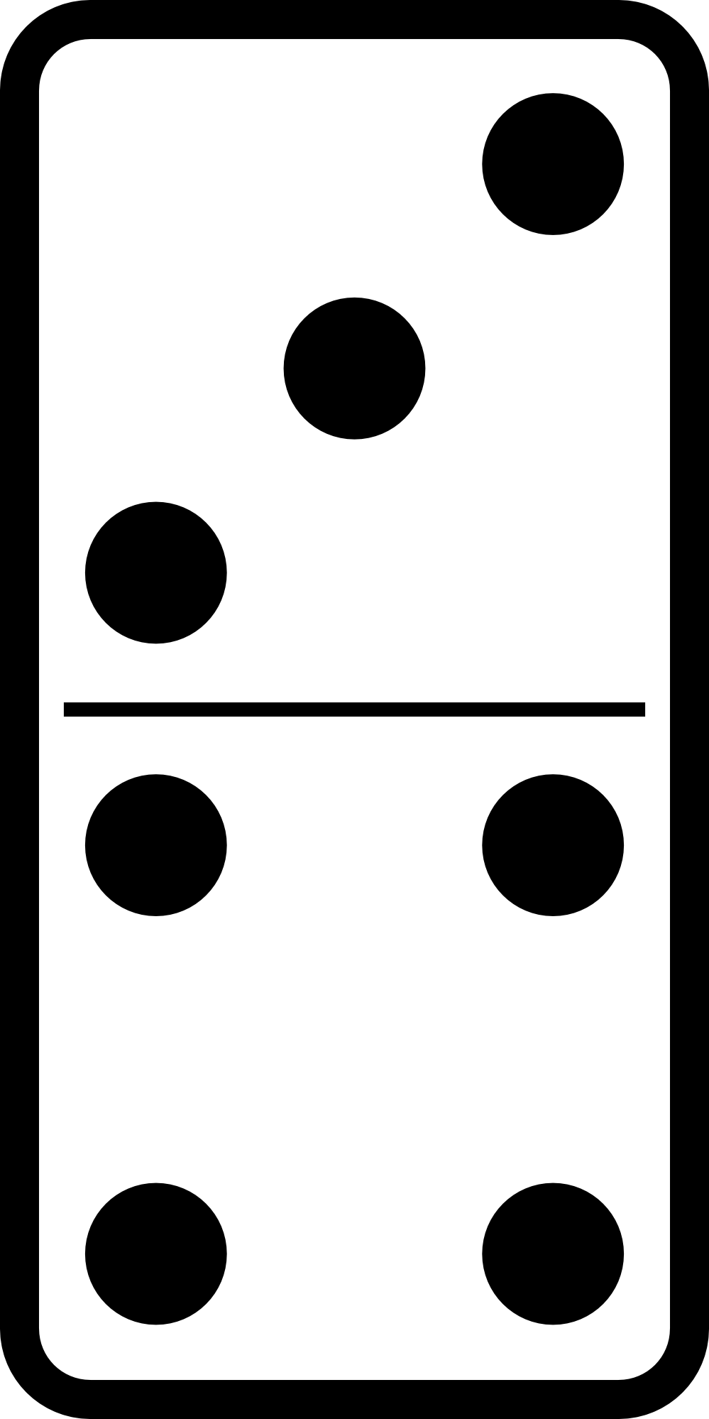 Dominoes Clipart.